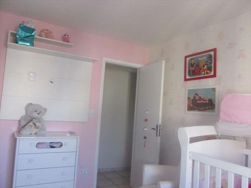 ref.: 102356500 - apartamento em praia grande, no bairro guilhermina - 2 dormitórios