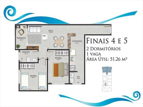 ref.: 102363101 - apartamento em praia grande, no bairro ocian - 2 dormitórios