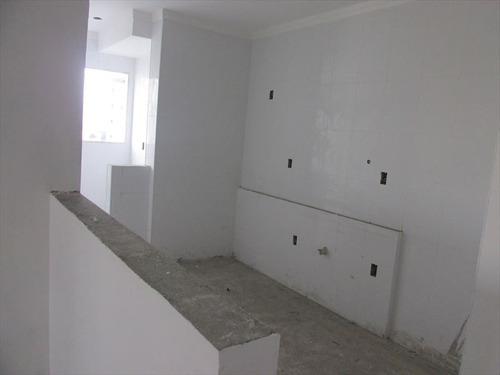 ref.: 102366200 - apartamento em praia grande, no bairro guilhermina - 2 dormitórios