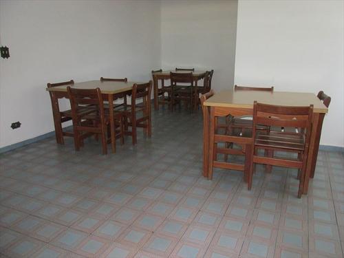 ref.: 102368100 - apartamento em praia grande, no bairro guilhermina - 2 dormitórios