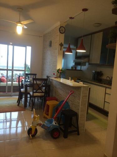 ref.: 102371304 - apartamento em praia grande, no bairro caicara - 2 dormitórios