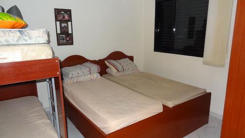 ref.: 102371404 - apartamento em praia grande, no bairro guilhermina - 2 dormitórios