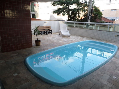 ref.: 102543501 - apartamento em praia grande, no bairro guilhermina - 2 dormitórios