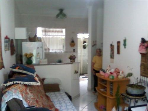 ref.: 102701 - casa em praia grande, no bairro canto do forte - 1 dormitórios