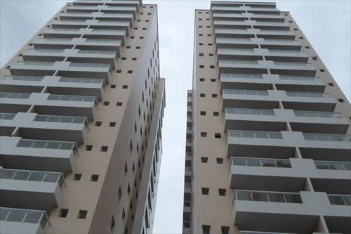 ref.: 1028 - apartamento em praia grande, no bairro forte - 2 dormitórios