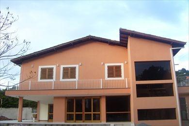 ref.: 1029 - casa condomínio fechado em cotia, no bairro recanto inpla - 3 dormitórios