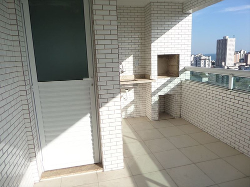 ref.: 103013201 - apartamento em praia grande, no bairro guilhermina - 3 dormitórios
