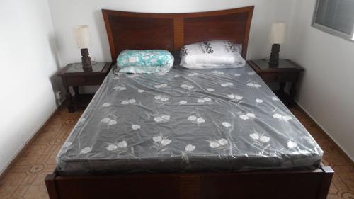 ref.: 1032 - apartamento em praia grande, no bairro guilhermina - 2 dormitórios