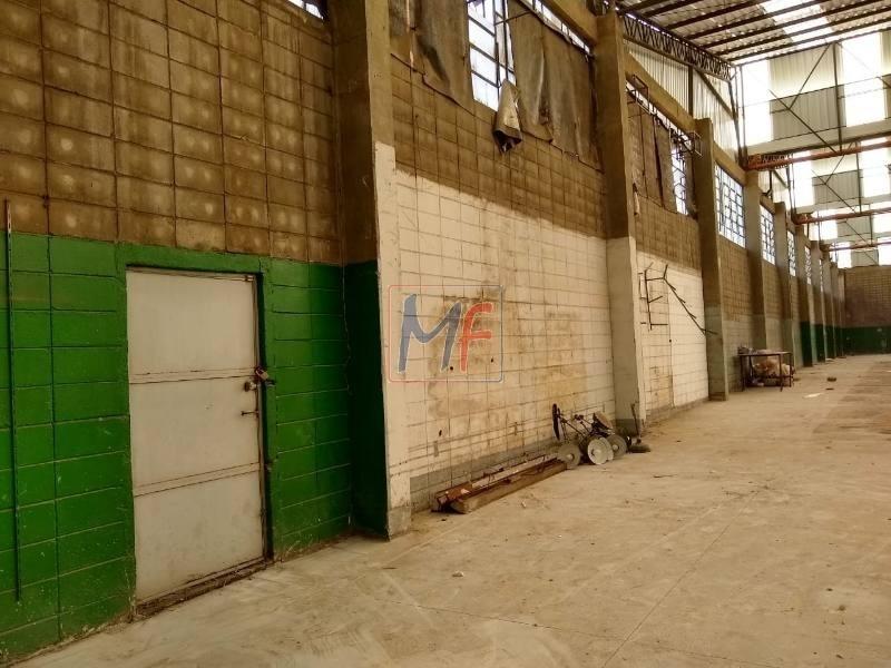 ref: 10.341 excelente galpão com terreno de 3712 m² e  3000 m² a.c.   cidade industrial satélite de são paulo. guarulhos. ótima localização. - 10341
