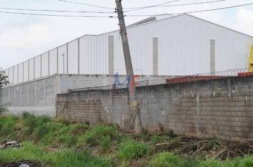 ref: 10.343 ótimo galpão em terreno de  15.000 m² e 7.300 m² a.c., pé direito 9,8 m bairro cidade industrial satélite de são paulo. guarulhos. - 10343
