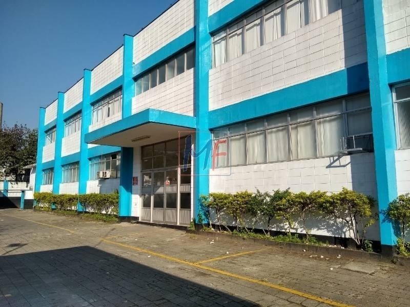 ref: 10.345 ótimo galpão terreno de 7.745,32 m² e 5.036,46 m² a.c., pé direito 9 m para locação no bairro cumbica. ótima localização. - 10345