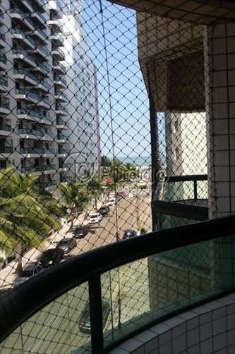 ref.: 1037 - apartamento em praia grande, no bairro forte - 3 dormitórios