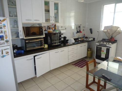 ref.: 1037 - apartamento em santos, no bairro embare - 2 dormitórios