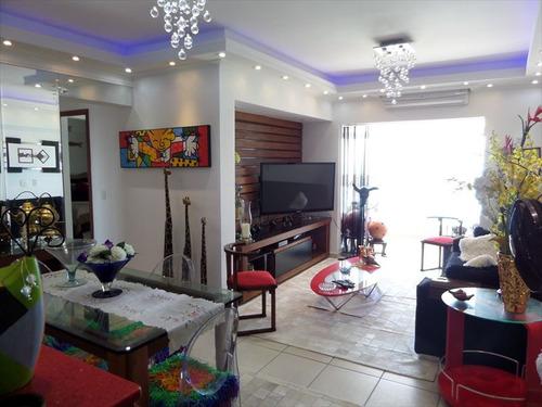 ref.: 10377001 - apartamento em praia grande, no bairro guilhermina - 3 dormitórios