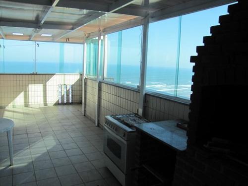 ref.: 10417001 - apartamento em praia grande, no bairro guilhermina - 4 dormitórios