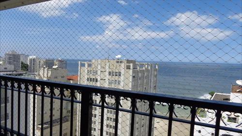 ref.: 1047 - apartamento em guarujá, no bairro pitangueiras