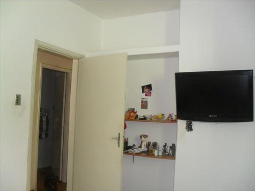 ref.: 1048200 - casa em praia grande, no bairro vila guilhermina - 2 dormitórios