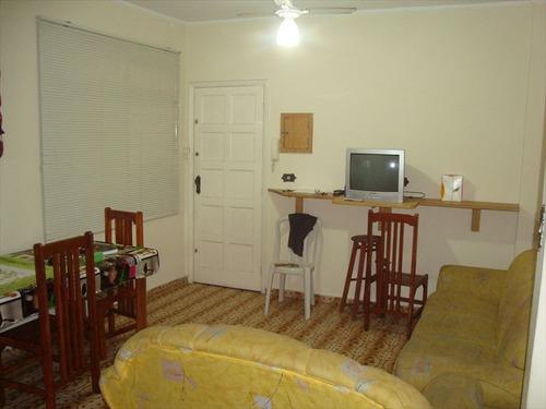 ref.: 1053 - apartamento em praia grande, no bairro guilhermina - 2 dormitórios