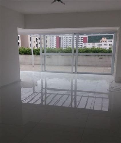 ref.: 1053 - apartamento em santos, no bairro campo grande - 2 dormitórios