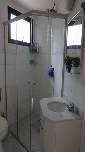 ref.: 1054 - apartamento em guarujá, no bairro pitangueiras