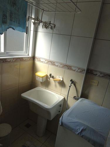 ref.: 1058 - apartamento em praia grande, no bairro guilhermina - 2 dormitórios