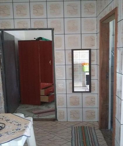 ref.: 107 - casa em mongagua, no bairro itaguai - 1 dormitórios