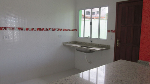 ref.: 10700 - casa em itanhaém, no bairro cibratel 2 - 2 dormitórios