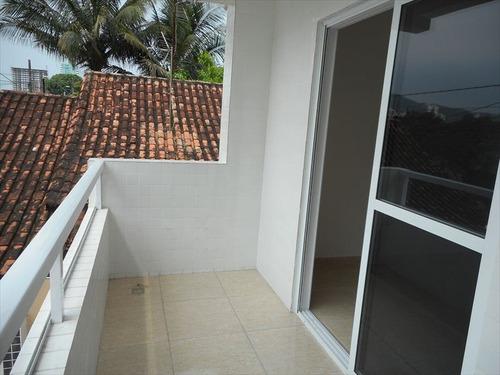 ref.: 1076 - casa condomínio fechado em praia grande, no bairro canto do forte - 2 dormitórios