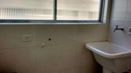 ref.: 1077 - apartamento em guarujá, no bairro jardim astúrias - 2 dormitórios