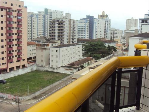 ref.: 1077 - apartamento em praia grande, no bairro vila guilhermina - 2 dormitórios