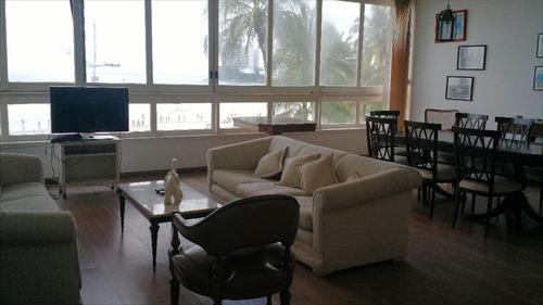 ref.: 1081 - apartamento em guarujá, no bairro pitangueiras - 3 dormitórios