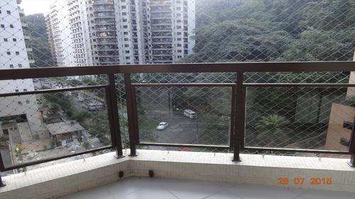 ref.: 1084 - apartamento em guarujá, no bairro pitangueiras