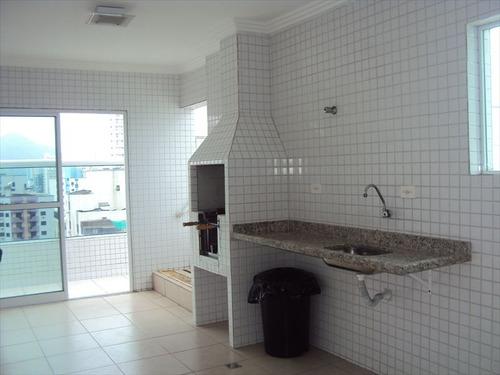 ref.: 1091 - apartamento em praia grande, no bairro guilhermina - 2 dormitórios