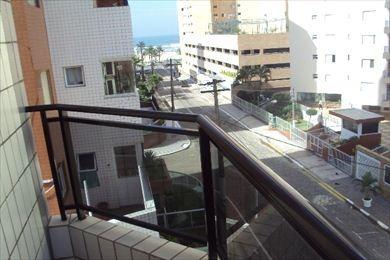 ref.: 109600 - apartamento em praia grande, no bairro vila guilhermina - 1 dormitórios