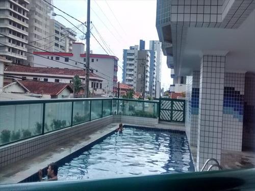 ref.: 1099000 - apartamento em praia grande, no bairro vila guilhermina - 1 dormitórios