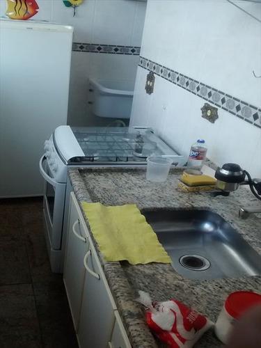 ref.: 11 - apartamento em praia grande, no bairro forte - 2 dormitórios