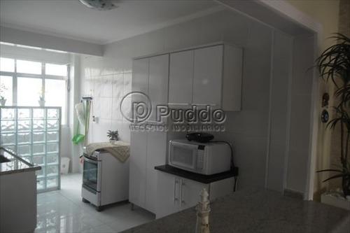 ref.: 1100 - apartamento em praia grande, no bairro forte - 2 dormitórios