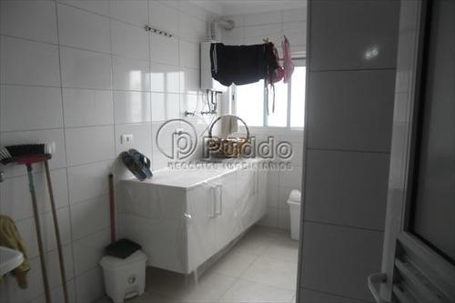 ref.: 1110 - apartamento em praia grande, no bairro forte - 3 dormitórios