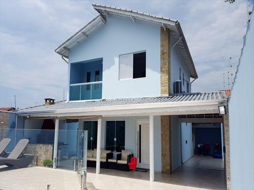 ref.: 1112 - casa em praia grande, no bairro solemar - 4 dormitórios