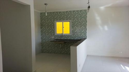 ref.: 1115 - casa condomínio fechado em praia grande, no bairro jardim melvi - 2 dormitórios