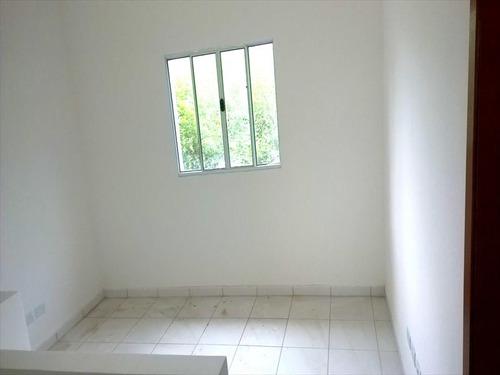ref.: 1117 - casa em praia grande, no bairro quietude - 2 dormitórios