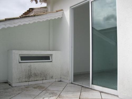 ref.: 1118200 - casa condomínio fechado em praia grande, no bairro canto do forte - 3 dormitórios