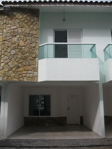 ref.: 1118400 - casa condomínio fechado em praia grande, no bairro boqueirao - 3 dormitórios