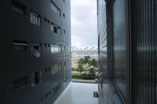ref.: 1119 - apartamento em praia grande, no bairro forte - 2 dormitórios