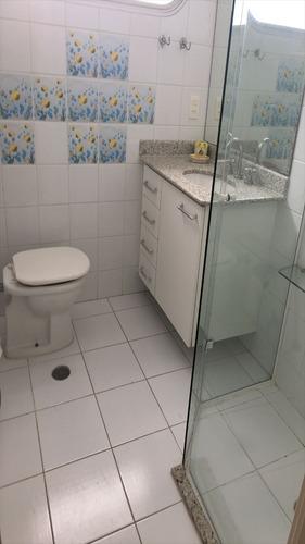 ref.: 1122 - apartamento em guaruja, no bairro barra funda - 2 dormitórios