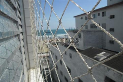 ref.: 1122 - apartamento em praia grande, no bairro canto do forte - 2 dormitórios