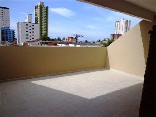 ref.: 1122600 - casa em praia grande, no bairro guilhermina - 2 dormitórios