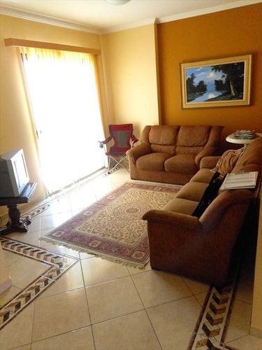 ref.: 1123 - apartamento em praia grande, no bairro guilhermina - 2 dormitórios