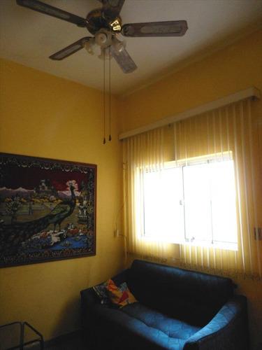 ref.: 1125 - casa em praia grande, no bairro canto do forte - 1 dormitórios