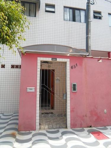 ref.: 1127 - apartamento em praia grande, no bairro caicara - 1 dormitórios